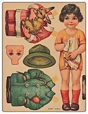 Craft CD 45 muñecos de papel vintage papercrafts Retro Juguetes Fiestas Tarjetas Recortes