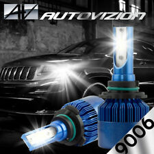 AUTOVIZION LED HID Headlight kit 9006 White for 1989-1994 Pontiac Sunbird