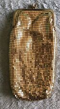 Vintage Metal Sequin cigarette Eye Glass case