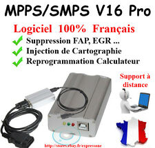 Câble Interface MPPS Professionnel Logiciel MPPS V16  VAGCOM OBD2 OBD CAN K-LINE
