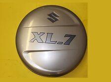 04 05 06 SUZUKI XL7 EX REAR SPARE TIRE WHEEL HARD COVER W/ LOGO OEM BEIGE
