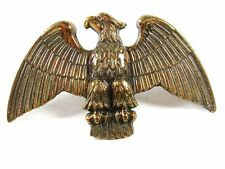 Vintage America Flag Topper Brass & Leather Eagle Unbranded 6116