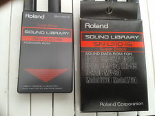 "Roland SN-U110-15 ""Super Brass"" ROM for D-70, U-20, U-220, U-110, MV-30, KR-55"