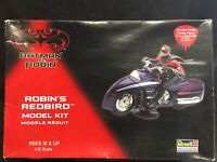 Revell Batman & Robin Robin's Redbird Model Kit, 1:12 Scale Open Box