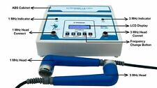 New Ultrasound Physical Therapy Dual 1MHz & 3MHz 27 preset program Equipment 3HP