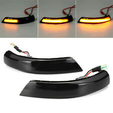 2× Dynamic LED Turn Signal Mirror Indicators Light For Ford Focus Mk2 Mk3 Mondeo