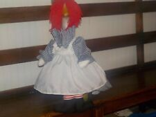 Goose Clothes: Everybody Loves Raggedy Ann Goose Outfit by Silly Goose