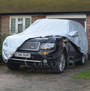 Range Rover L322/L405 4x4 Breathable Car Cover, 2002 onwards, inc mirror pockets
