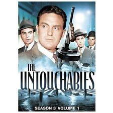 THE UNTOUCHABLES - SEASON 3 VOLUME 1 (NEW DVD)