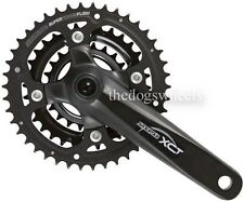 SR Suntour XCT Triple Chainset Crankset MTB Bicycle Bike 22/32/42T 175mm
