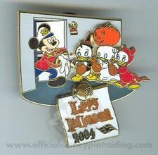 Disney DCL Halloween Mickey Mouse & Donald's Nephews Pin
