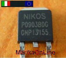 1x NIKOS MOSFET P0903BDG P0903B - Nuovo Italia