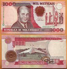 Mozambique, 1991, Unc, 1000 Meticais, Banknote, Paper Money Bill, P- 135