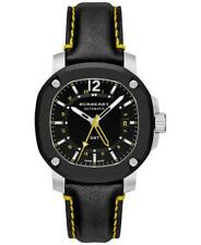 Burberry Men's Swiss The Britain Black Leather Strap 43mm Watch