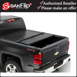 "Bakflip G2 Tonneau Bed Cover for 2019-2021 Silverado Sierra 1500 5' 9"" Short Bed"
