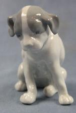 Jack russel terrier Hund hundefigur porzellanfigur Pfeffer Gotha figur pointer w