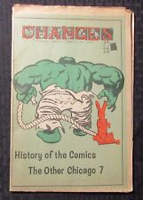 1970 CHANGES Newspaper Magazine v.2 #4 VG/FN 5.0 Hulk Cover - History of Comics