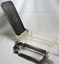 OLD MEDICAL B-P DENTAL STERILZER GLASS W/ MEDAL BASKET