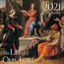 2021 Catholic Wall Calendar The Life of Our Lord