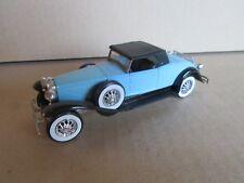 573G Solido 4156 Duesenberg J Spider 1931 Bleu 1:43