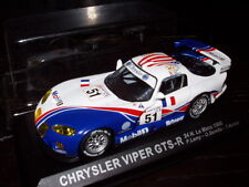 24H45M 1/43 IXO Altaya 24 heures du Mans : CHRYSLER Viper GTS-R 1998 Lamy #51