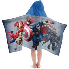 Marvel Avengers Hooded Towel BATH WRAP 25 X 50  COTTON