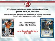 Atlanta Braves 2020 Bowman Jumbo 1/4 Case Break 2 Boxes # 3