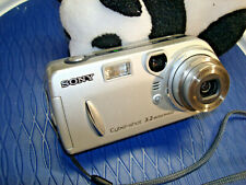 Sony Cyber-Shot DSC-P72  Silver - 3.2MP Digital Camera