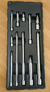 MAC Tools Multi Drive 11 Pc Knurled Magnetic Extension Set SMXVEKM11PT Nice