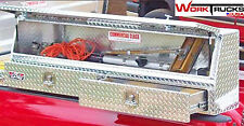 "Truck Tool box: Topsider with Drawer 90"" High Side Top Mount Toolbox topside"