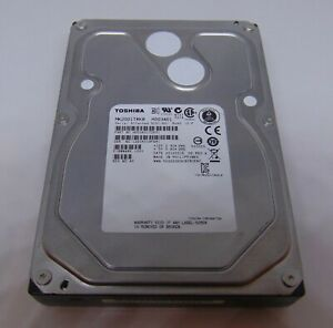 "2TB HDD Internal 6GB 7200RPM 3.5"" MK2001TRKB SAS Toshiba  Tested 100% NOT-SATA"
