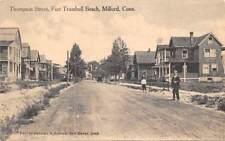 FORT TRUMBULL BEACH, MILFORD, CT ~ THOMPSON ST., DANZIGER & BERMAN, PUB. u. 1916