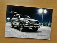 1827) Prospekt brochure / Mercedes M-Klasse 2014 / ML250 ML 400 ML 63 AMG 4Matic