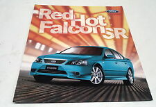 2008 FORD FALCON SR Limited Edition  Australian  Sales Leaflet
