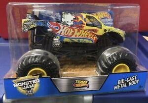 Team Hot Wheels Firestorm 1:24 Monster Jam New Boxed Uk Seller 🇬🇧 CBY61