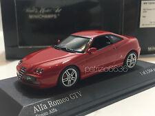 MINICHAMPS 1/43 Alfa Romeo Gtv 2004 Red Art. 400120301