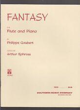 Theme Varie for Flute & Piano by Henri Busser Sheet Music Edited by Art Ephross