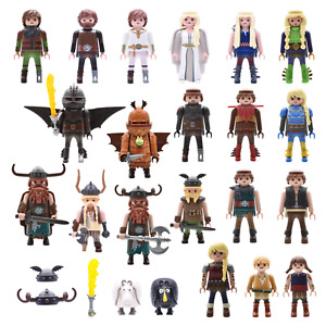 Playmobil Dragons Figurines how to Train Your Dragnon Viking