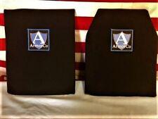 "Kevlar XP Soft Armor Panel NIJ IIIA 10"" x 12"" SAPI REC BLK FREE SHIPPING"