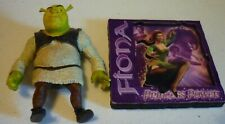 Shrek & Fiona Magnets Dreamworks 3- D Fun Princess Power 2003 !