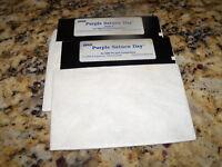 "EPYX Purple Saturn Day - IBM 1989 5.25"" floppy disks"
