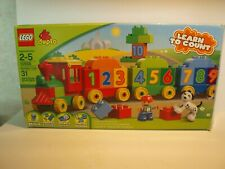 LEGO DUPLO 10558 NUMBER TRAIN - LEARN TO COUNT - CLEAN & COMPLETE with BOX