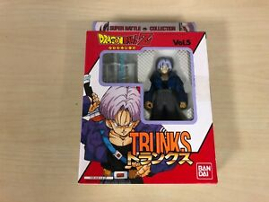 Trunks Action Figure Bandai Dragon Ball Z Super Battle Collection Vol. 5 DBZ