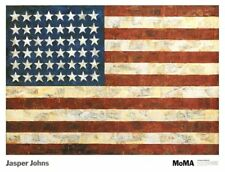 Flag, 1954 by Jasper Johns Pop Art Print MOMA Poster USA American 38x29