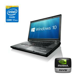 "Lenovo Thinkpad T530 Laptop 15.6"" HD+, i7-3630MQ, 12GB RAM, 240GB SSD, NVIDIA"