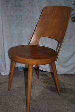 chaise Baumann bistrot 1960 modèle mondor fauteuil scandinave vintage teck