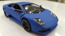 Lamborghini Murcielago matte blue Toy Car model kinsmart 1/36 scale diecast