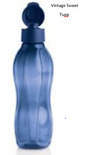 TUPPERWARE - Eco Bottle Nocturnal Blue 1Litre Beautiful Colour!