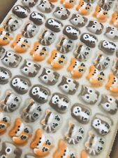 24 x Edible Woodland Animal Cupcake Toppers Decorations Party Cakes