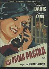 Miss prima pagina (1935) DVD